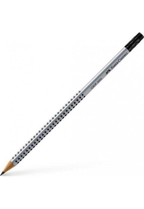 Μολύβι Faber-Castell Grip 2001 με Γόμα