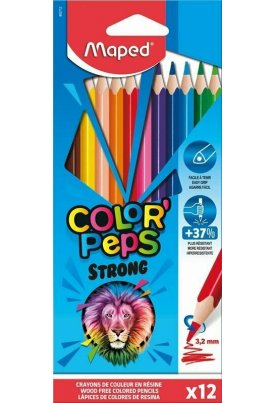 Ξυλομπογιές Maped Color Peps Strong