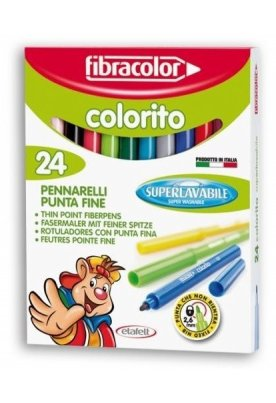 Μαρκαδόροι Fibracolor New Colorito