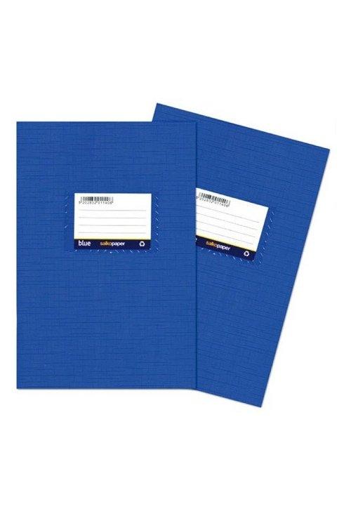 Τετράδιο πλαστικό μπλε λευκό