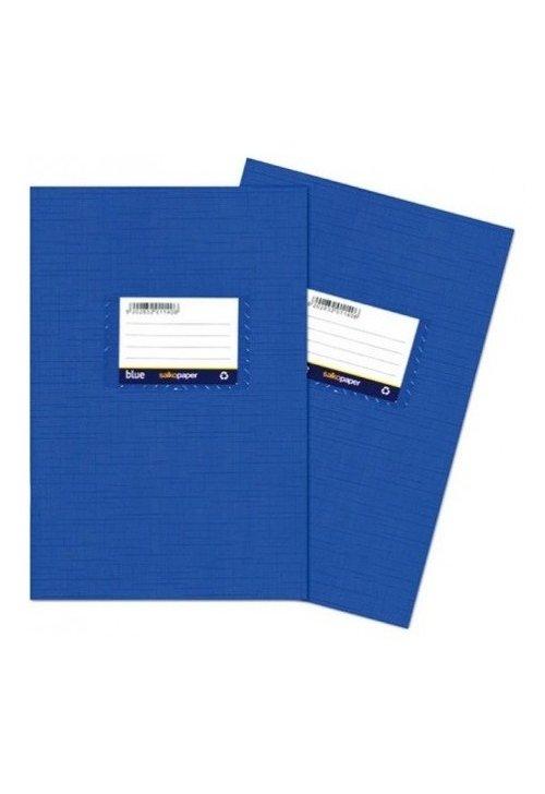 Τετράδιο πλαστικό μπλε Μ.Κ. (μεγάλο καρρέ)