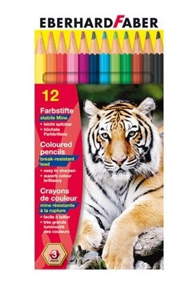 Ξυλομπογιές 12 χρωμάτων EFA